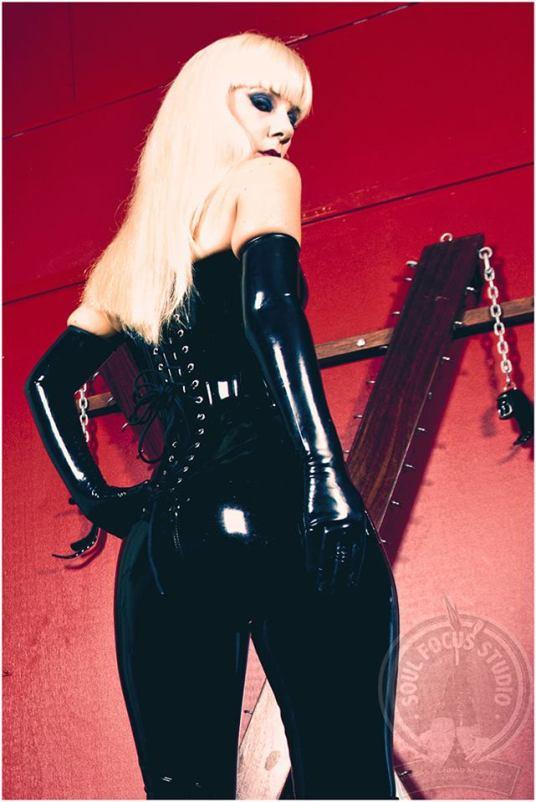 latex corset